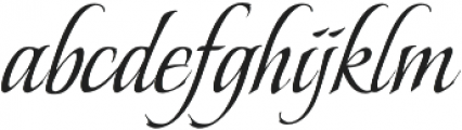 BeaurivageOne otf (400) Font LOWERCASE