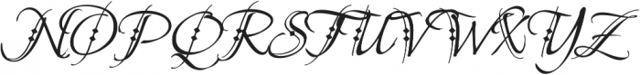 BeaurivageTwo otf (400) Font UPPERCASE