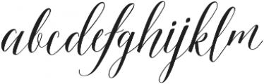 Beautiful Friday 03 Regular otf (400) Font LOWERCASE