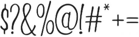 Beautiful Friday 06 Regular otf (400) Font OTHER CHARS