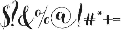 Beautiful Friday 07 Regular otf (400) Font OTHER CHARS