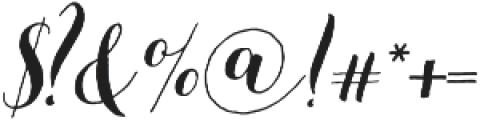 Beautiful Friday 07 Slant Regular ttf (400) Font OTHER CHARS