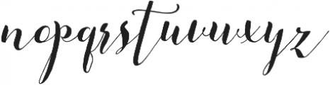 Beautiful Friday 07 Slant Regular ttf (400) Font LOWERCASE