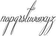 Beautiful Friends Italic otf (400) Font LOWERCASE
