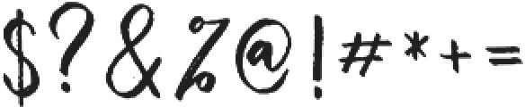 Beautiful Struggle Script otf (400) Font OTHER CHARS