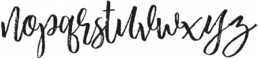Beautiful Struggle Script otf (400) Font LOWERCASE