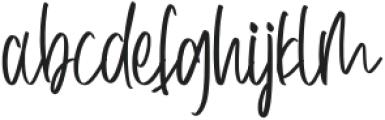 BeautifulBlossomsRegular otf (400) Font LOWERCASE
