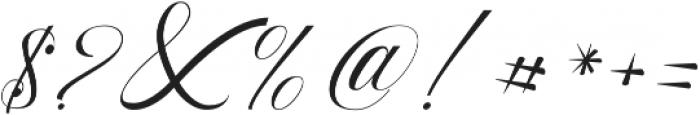 Beauty Athena otf (400) Font OTHER CHARS