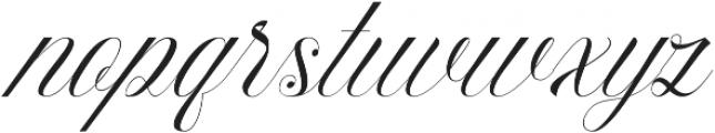 Beauty Athena otf (400) Font LOWERCASE