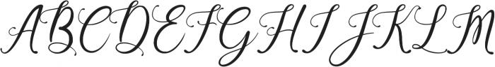 Beauty Gadish ttf (400) Font UPPERCASE