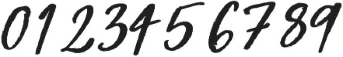 Beauty Rush Upright otf (400) Font OTHER CHARS