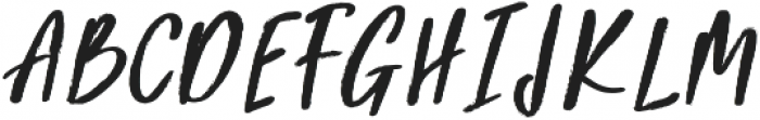 Beauty Rush Upright otf (400) Font UPPERCASE