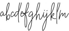 BeautyNotes Bold Regular otf (700) Font LOWERCASE