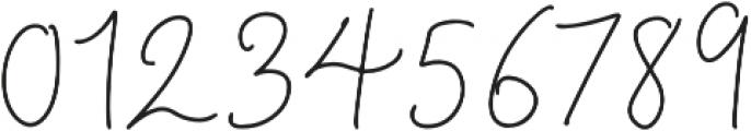 BeautyNotes Reg Regular otf (400) Font OTHER CHARS
