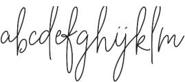 BeautyNotes Reg Regular otf (400) Font LOWERCASE