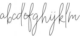 BeautyNotes Thin Regular otf (100) Font LOWERCASE