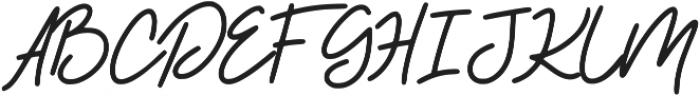 BeautySalon Script ttf (400) Font UPPERCASE