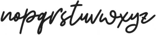 BeautySalon Script ttf (400) Font LOWERCASE