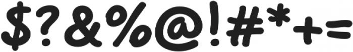 Beaverist otf (700) Font OTHER CHARS