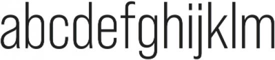 Bebas Neue Pro Book otf (400) Font LOWERCASE