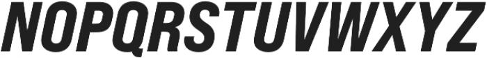 Bebas Neue Pro Expanded ExtraBold Italic otf (700) Font UPPERCASE