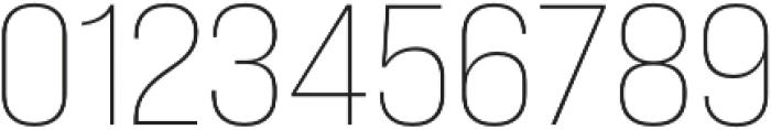 Bebas Neue Pro Expanded Light otf (300) Font OTHER CHARS
