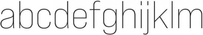 Bebas Neue Pro Expanded Light otf (300) Font LOWERCASE