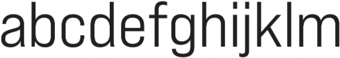 Bebas Neue Pro Expanded Middle otf (400) Font LOWERCASE