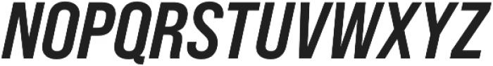 Bebas Neue Pro SemiExpanded Bold Italic otf (700) Font UPPERCASE