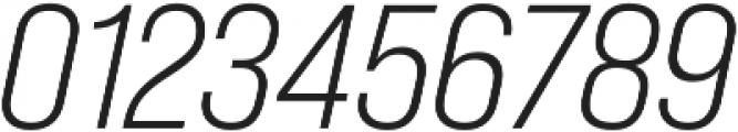 Bebas Neue Pro SemiExpanded Book Italic otf (400) Font OTHER CHARS