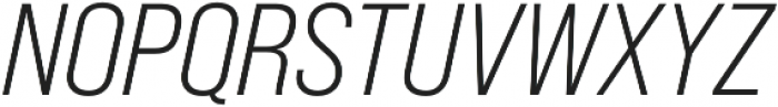 Bebas Neue Pro SemiExpanded Book Italic otf (400) Font UPPERCASE