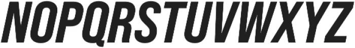 Bebas Neue Pro SemiExpanded ExtraBold Italic otf (700) Font UPPERCASE