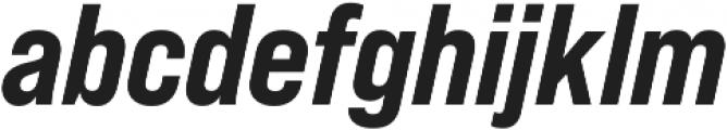 Bebas Neue Pro SemiExpanded ExtraBold Italic otf (700) Font LOWERCASE