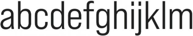 Bebas Neue Pro SemiExpanded Middle otf (400) Font LOWERCASE