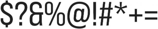 Bebas Neue Pro SemiExpanded Regular otf (400) Font OTHER CHARS