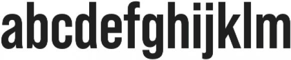 Bebas Neue Pro otf (700) Font LOWERCASE