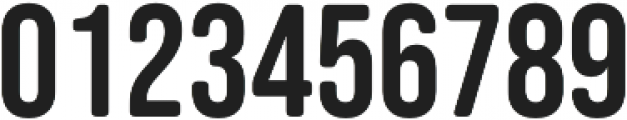 Bebas Neue SemiRounded otf (400) Font OTHER CHARS