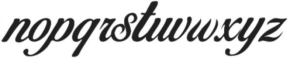 Becik Script Regular otf (400) Font LOWERCASE