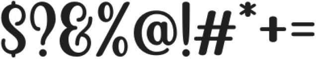 Becks Delights Regular otf (300) Font OTHER CHARS