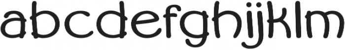 Becky otf (400) Font LOWERCASE
