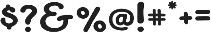 Becky otf (700) Font OTHER CHARS
