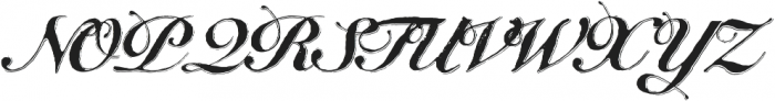 Bedesten Shadow otf (400) Font UPPERCASE