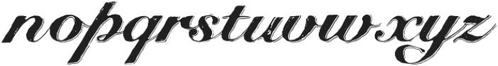 Bedesten Shadow otf (400) Font LOWERCASE