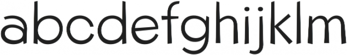 Beebzz Light ttf (300) Font LOWERCASE