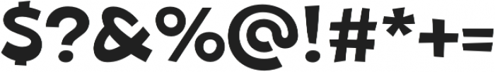 Beebzz Medium otf (500) Font OTHER CHARS