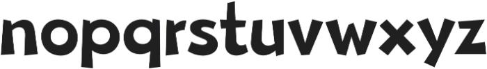 Beebzz Medium otf (500) Font LOWERCASE
