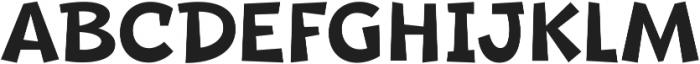 Beebzz Medium ttf (500) Font UPPERCASE