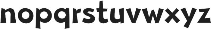 Beebzz Medium ttf (500) Font LOWERCASE
