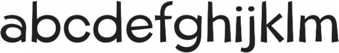 Beebzz Normal otf (400) Font LOWERCASE