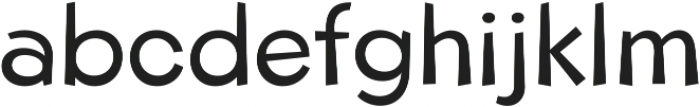 Beebzz Normal ttf (400) Font LOWERCASE